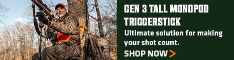 Gen 3 Tall Monopod Triggerstick - Ultimate solution for making your shot count