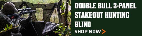 Double Bull 3-Panel Stakeout Hunting Blind