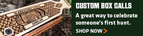 Custom Box Calls - A great way to celebrate someone's first hunt