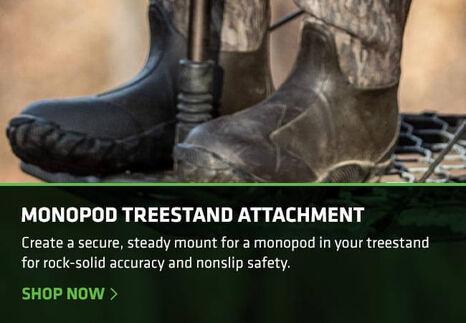 Mono Pod Tree Stand Attachment for Trigger Sticks