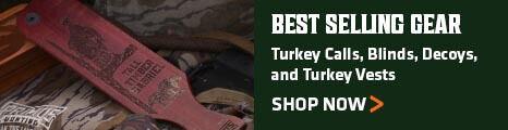 Best Selling Turkey Gear - Turkey Calls, Blinds, Decoys, and Turkey Vests