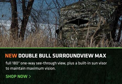 Outside View of a Surround View Max Hunting Blind