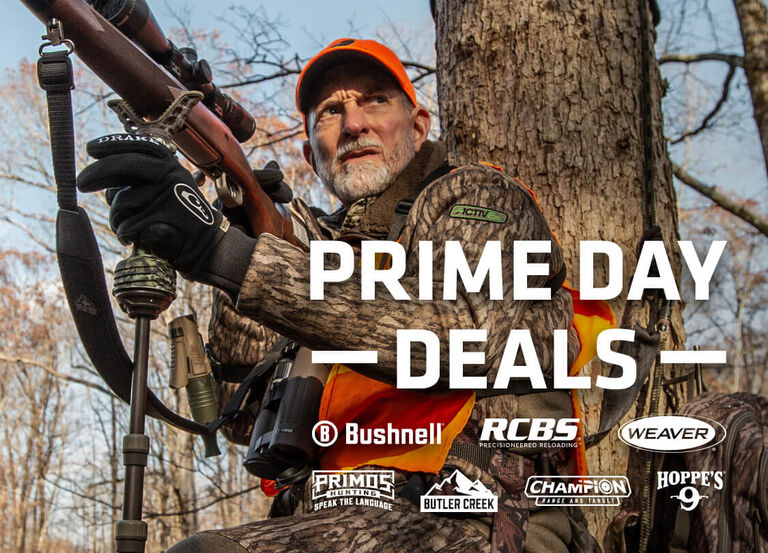 Primos Lose Call Case, Prime Day Deals on Bushnell, RCBS, Weaver, Primos, Butler Creek, Champion, and Hoppe's