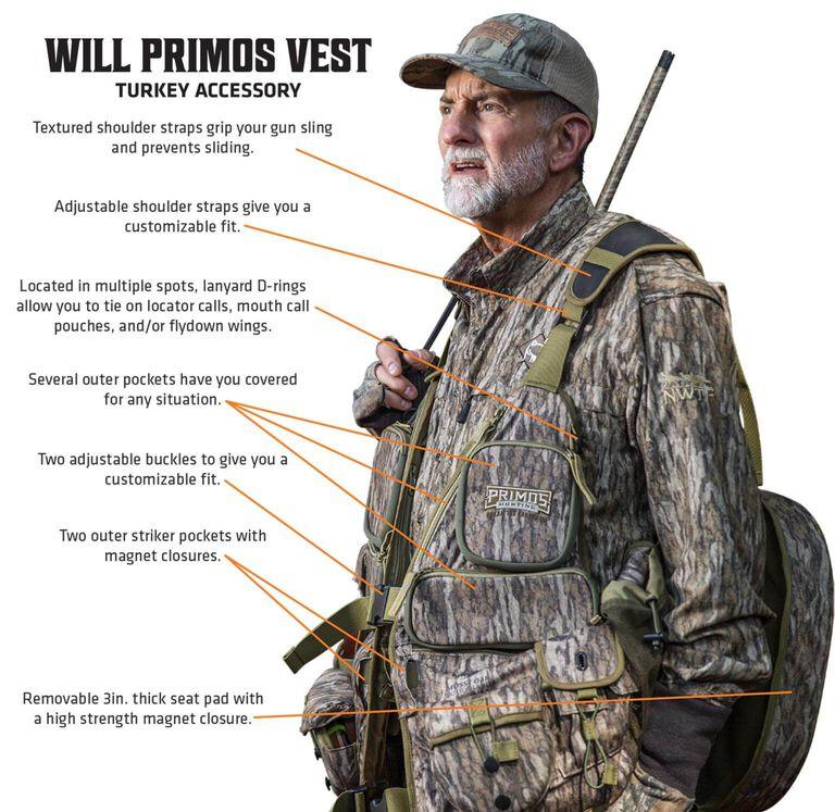 Will Primos Turkey Vest Callouts