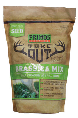 Buy Take Out Seed Brassica Blend 1 5 Lb Primos Hunting