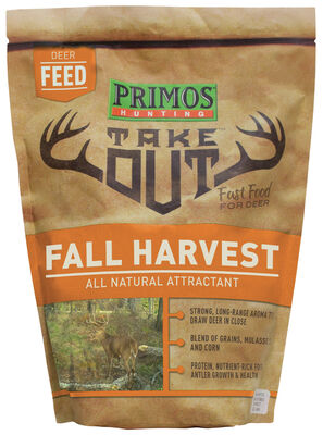Take Out Fall Harvest Deer Feed