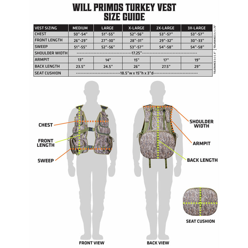 Will Primos Turkey Vest