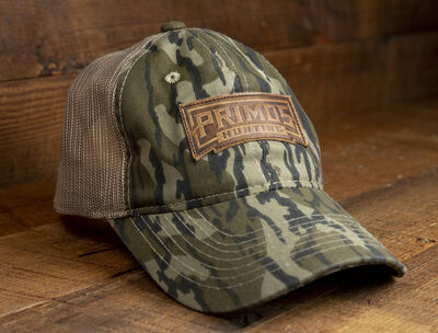 Mossy Oak Original Bottomland / Tan Mesh Back Hat