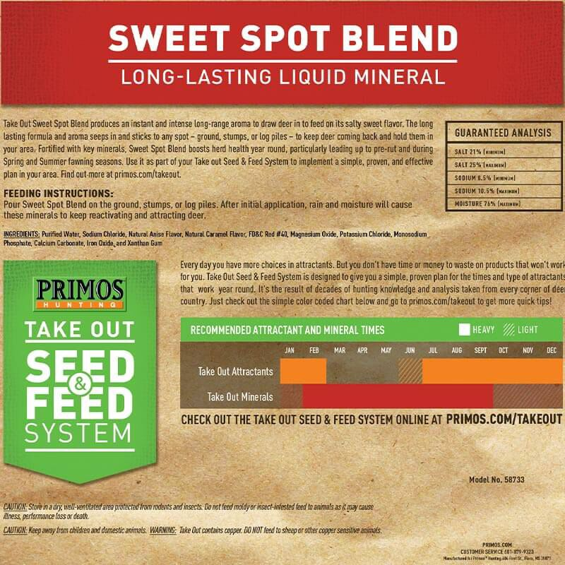 Take Out Mineral Sweet Spot Blend