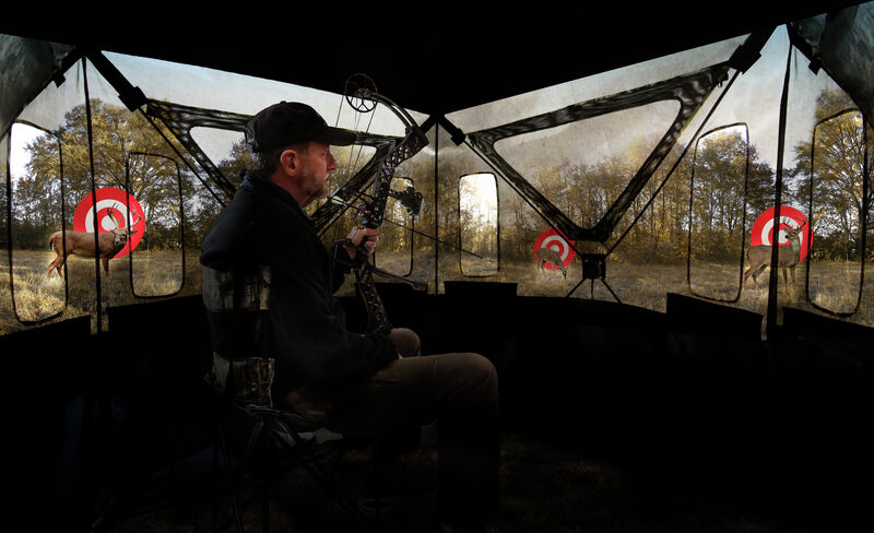 Double Bull SurroundView 270 Ground Blind
