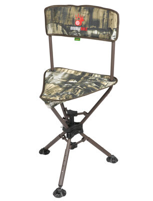 Double Bull Ground Blind Swivel Stool