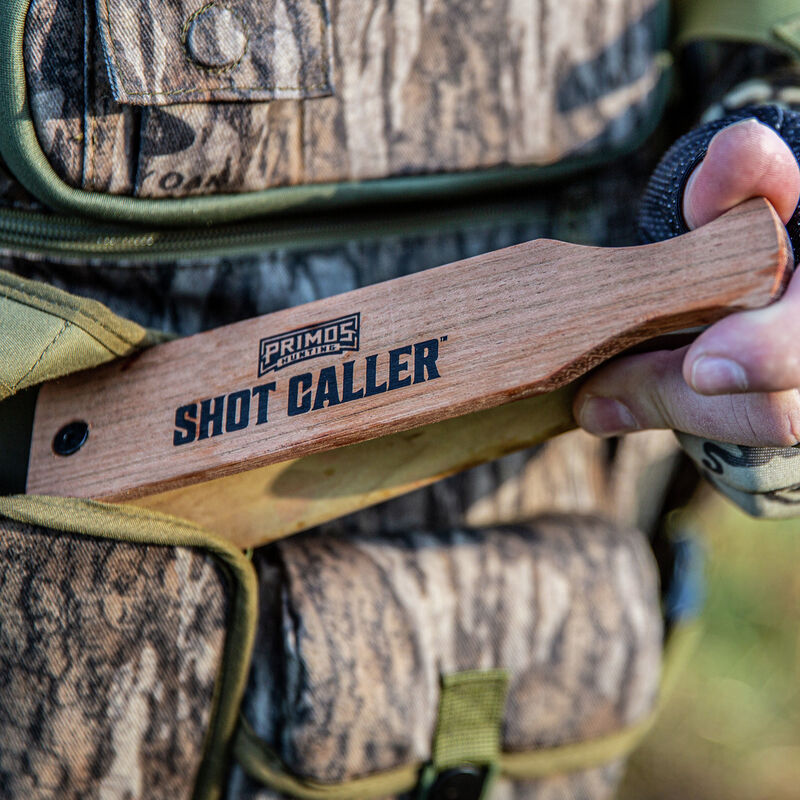 Shot Caller Double Sided Box Call