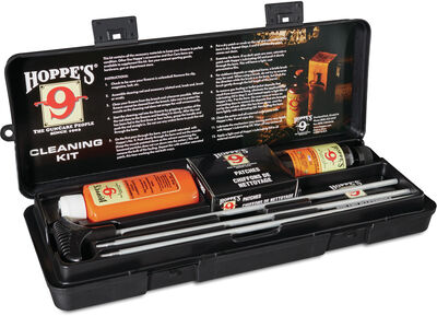 Rifle & Shotgun Cleaning Kit with Aluminum Rod