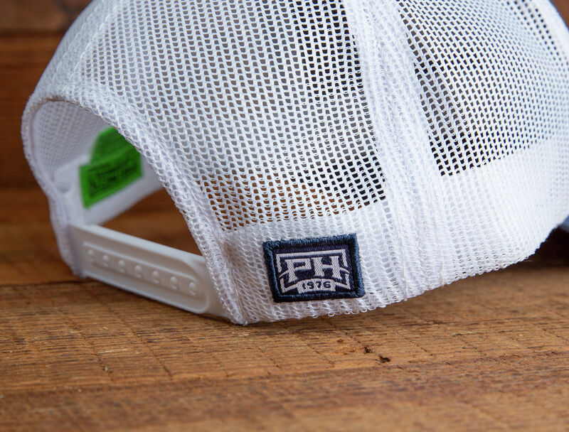 """""""The Weekender"""" Admiral Blue Front, White Mesh Back Cap"""