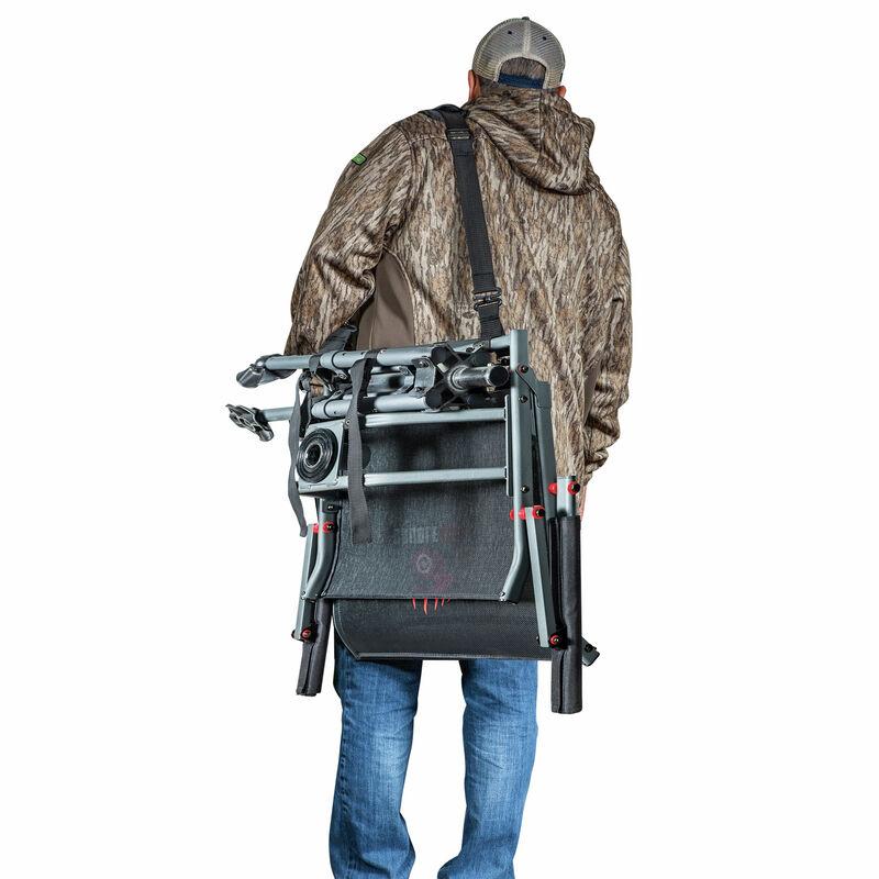 Double Bull Swivel Hunting Blind Chair