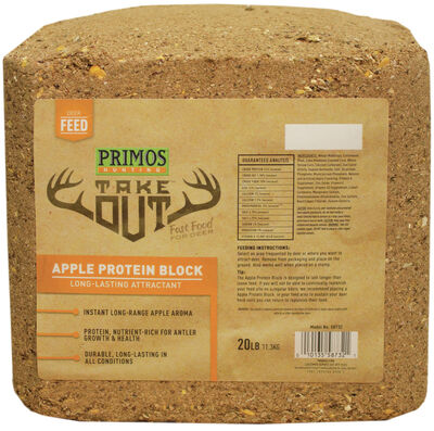 Take Out Block Apple Protein Brown 20 lb. Block