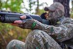 Mossy Oak Bottomland Stretch Fingerless Gloves