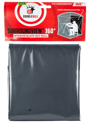 SurroundView 360 Interior Black-Out Ground Blind Wall