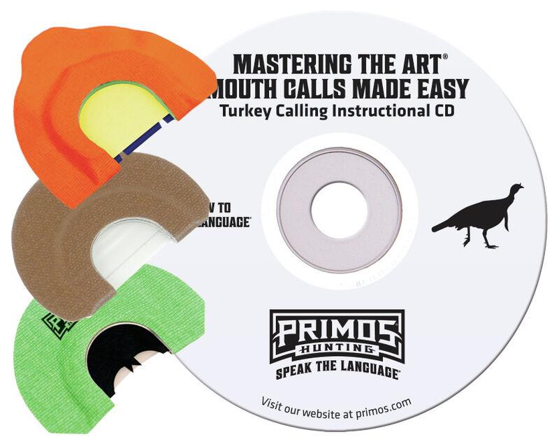 Mastering the Art - Turkey Mouth Call Pak