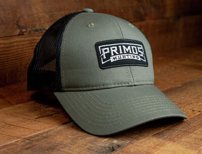 """The Forester"" Hat Classic Olive Drab Front, Black Mesh Back"